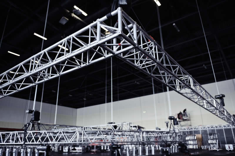 Indoor Rigging for Sound and Lighting