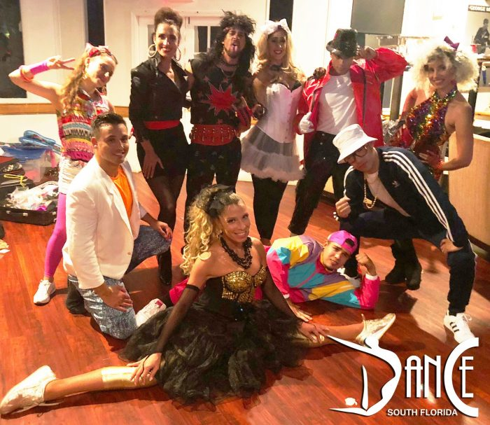 80s Show and Dancers
